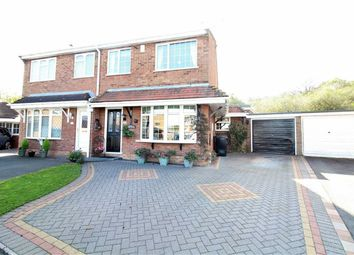 Thumbnail 3 bedroom semi-detached house for sale in Woodsetton Close, Dudley