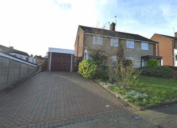 Thumbnail 3 bed semi-detached house to rent in Northbank Close, Strood, Rochester