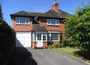 Thumbnail 4 bed semi-detached house to rent in Ernsford Close, Dorridge