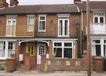 Thumbnail 4 bedroom terraced house for sale in Kings Avenue, Ipswich