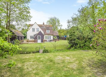 Thumbnail 4 bedroom detached house for sale in Lamarsh, Bures, Essex