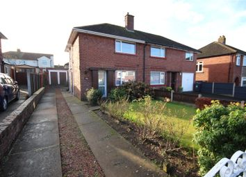 Thumbnail 2 bed semi-detached house for sale in 35 Grinsdale Avenue, Carlisle, Cumbria