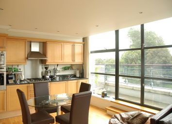 Thumbnail 2 bed flat to rent in Ferry Quays, Brentford