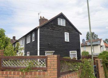 Thumbnail 4 bedroom end terrace house for sale in Gaskarth Road, Burnt Oak, Edgware Middlesex