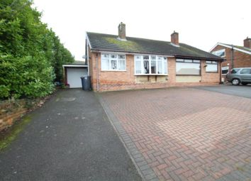Thumbnail 3 bed semi-detached bungalow for sale in Farm Road, Horninglow, Burton-On-Trent