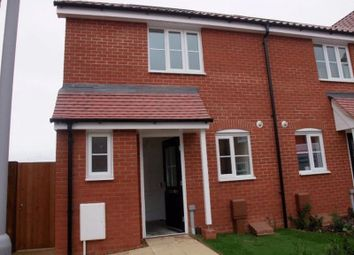 Thumbnail 2 bed end terrace house to rent in Ullswater, Carlton Colville, Lowestoft