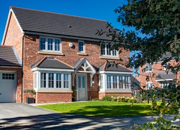 Thumbnail 4 bed detached house for sale in Eastern Road, Willaston