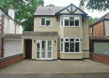 Thumbnail 4 bed detached house for sale in Smirrells Road, Hall Green, Birmingham
