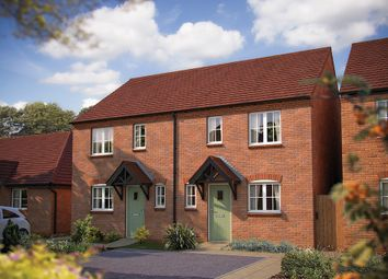 "Thumbnail 2 bed semi-detached house for sale in ""The Radford"" at Rush Lane, Bidford-On-Avon, Alcester"