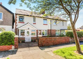 Thumbnail 3 bed semi-detached house for sale in Whitley Road, Wellfield, Whitley Bay