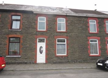 Thumbnail 2 bed terraced house for sale in Llanover Road, Pontypridd