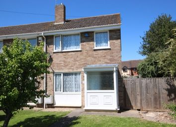 Thumbnail End terrace house for sale in Heather Close, Bridgwater