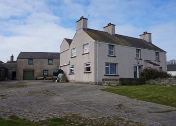 Thumbnail 4 bed detached house for sale in Lon Crecrist, Holyhead