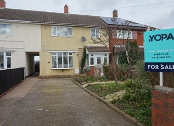 Thumbnail 3 bed terraced house for sale in Bracebridge Road, Kingsbury, Tamworth