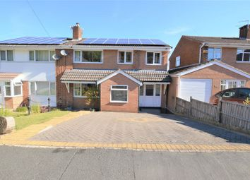 Thumbnail 4 bed semi-detached house for sale in Forester Drive, Stalybridge