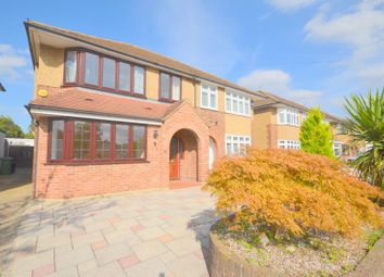 Thumbnail 3 bed property to rent in Brookdale Avenue, Upminster