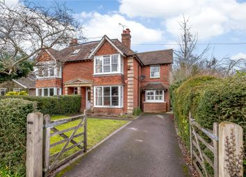 Thumbnail 4 bedroom semi-detached house for sale in Deane Down Drove, Littleton, Winchester, Hampshire