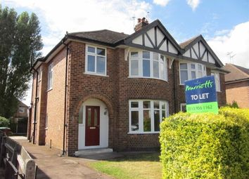 Thumbnail 3 bed semi-detached house to rent in Hollinwell Avenue, Wollaton, Nottingham