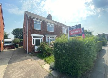 Thumbnail 3 bed semi-detached house to rent in Stockshill Road, Scunthorpe
