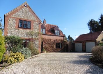 Thumbnail 4 bed detached house for sale in Moor End Lane, Stibbard