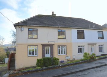 Thumbnail 2 bed flat for sale in Broom Crescent, Ochiltree, Cumnock