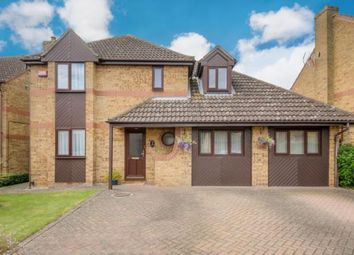 Thumbnail 4 bed detached house for sale in Cartmel Close, Bletchley, Milton Keynes
