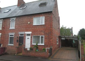 Thumbnail 3 bed end terrace house for sale in Ann Street, Creswell, Worksop, Nottinghamshire