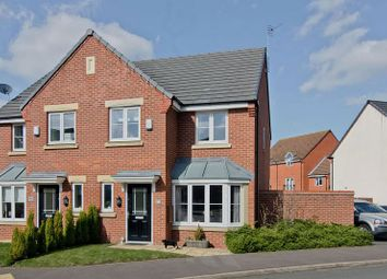 Thumbnail 3 bed semi-detached house to rent in Lupin Drive, Huntington, Cannock