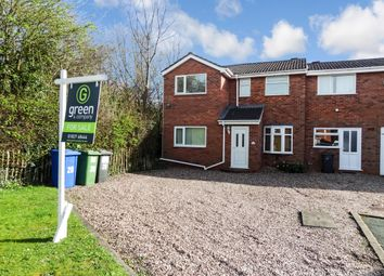 Thumbnail 4 bed end terrace house for sale in Torside, Wilnecote, Tamworth