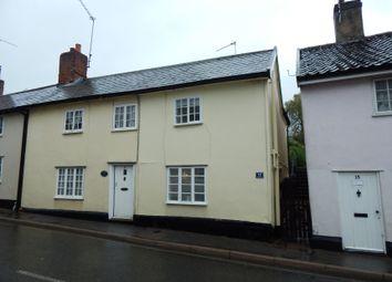 Thumbnail 1 bed end terrace house for sale in 13 Lowgate Street, Eye, Suffolk