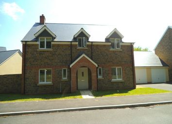 Thumbnail 4 bed detached house for sale in Llys Y Ddraenen Wen, Parc Derwen, Bridgend