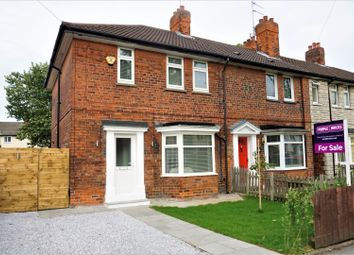 Thumbnail 3 bedroom end terrace house for sale in Calvert Road, Hull