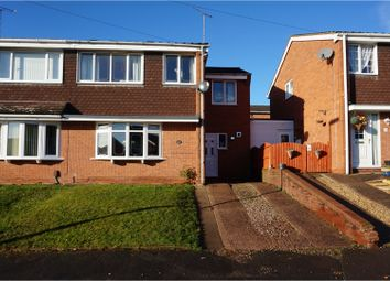 Thumbnail 4 bed semi-detached house for sale in Avonlea Gardens, Rugeley