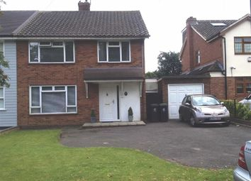 Thumbnail 3 bedroom semi-detached house for sale in Lambourne Road, Chigwell Row, Essex