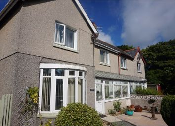 Thumbnail 3 bed semi-detached house for sale in Embankment Road, Pwllheli