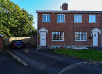 Thumbnail 3 bed semi-detached house for sale in Beaufort Park, Off Beechill Road, Belfast