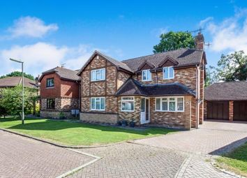 Thumbnail 4 bed detached house for sale in Kidworth Close, Meath Green, Horley, Surrey