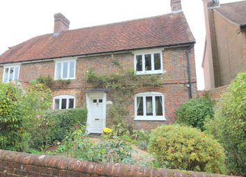 Thumbnail 2 bed semi-detached house for sale in Bishop's Sutton, Alresford