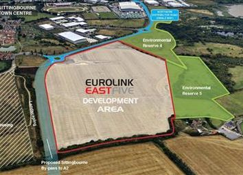 Thumbnail Land for sale in Eurolink East Five, Swale Way, Sittingbourne, Kent