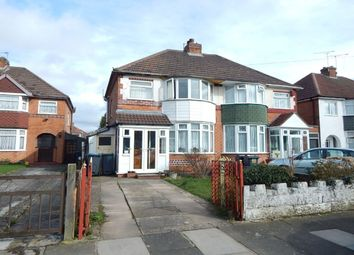 Thumbnail 3 bedroom semi-detached house for sale in Kingshurst Road, Northfield, Birmingham