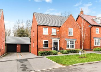 Thumbnail 4 bed detached house for sale in Pickerings Avenue, Measham, Swadlincote