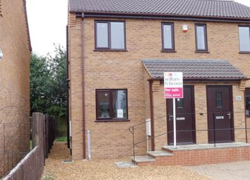 Thumbnail 2 bed semi-detached house to rent in Hedgelands, Wisbech