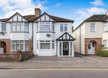 Thumbnail 3 bed semi-detached house to rent in Crown Street, Egham