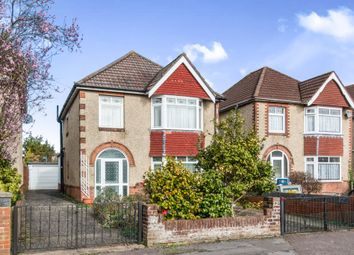 Thumbnail 3 bed detached house for sale in St. Aubins Avenue, Southampton
