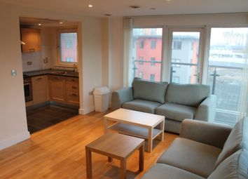 Thumbnail 2 bedroom flat to rent in Mast Quay, London