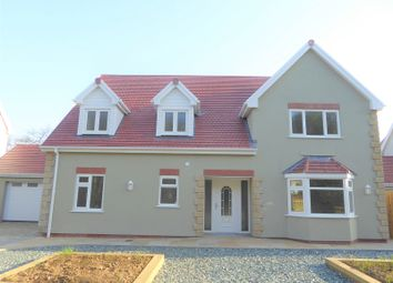 Thumbnail 4 bed detached house for sale in Greenfields, Heol-Y-Cyw, Bridgend