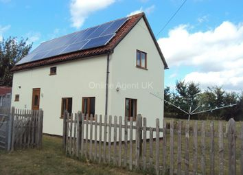 Thumbnail 2 bed detached house to rent in High Road, Needham, Harleston, Norfolk.