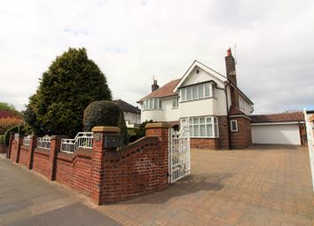 Thumbnail 4 bedroom detached house for sale in West Drive, Cleveleys