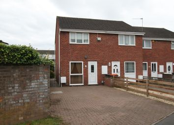 Thumbnail 2 bed end terrace house for sale in Bideford Road, Newport