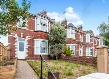 Thumbnail 3 bed terraced house to rent in Exwick Road, Exeter